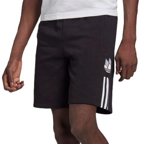 Adidas-3D-Trefoil-3-stripes-Joggingshort-Heren