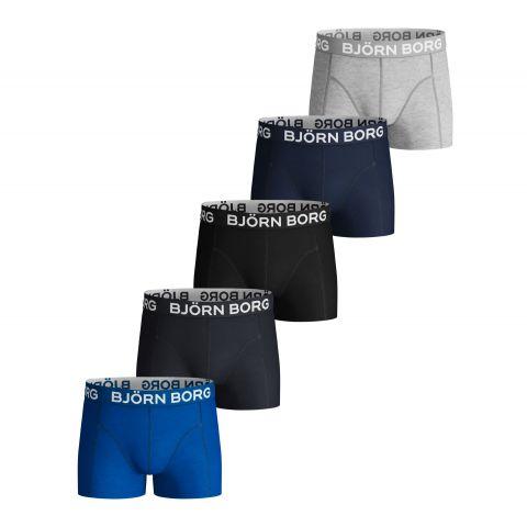 Bj-rn-Borg-Solid-Sammy-Boxershorts-5-pack-Junior