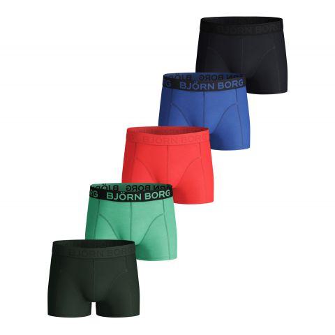 Bj-rn-Borg-Solid-Sammy-Boxershorts-Junior-5-pack-