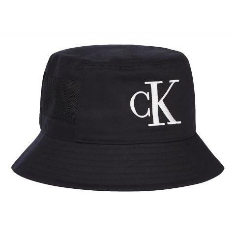 Calvin-Klein-Mesh-Mono-Bucket-Hat-Senior