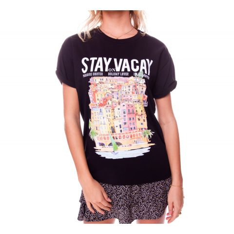 Colourful-Rebel-Stay-On-Vacay-Boxy-Shirt-Dames