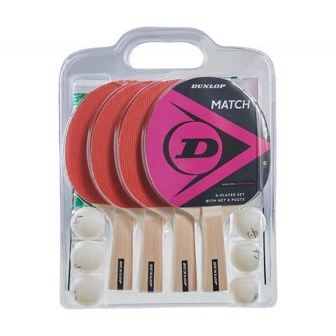 Dunlop-Match-Tafeltennis-Set-4-spelers-