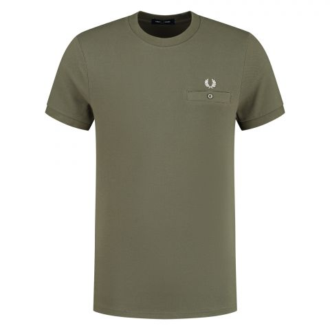 Fred-Perry-Pocket-Detail-Pique-Shirt-Heren-2108310759