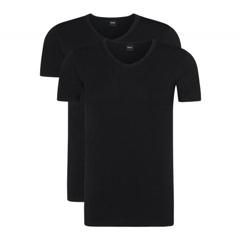 Hugo-Boss-V-Neck-T-shirt-Heren-2-pack-