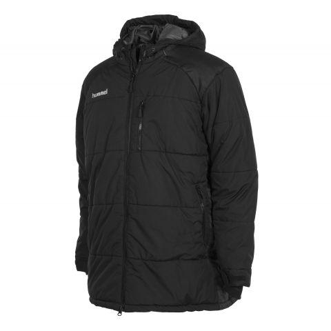 Hummel-Authentic-Padded-Coach-Jacket-Senior