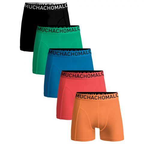 Muchachomalo-Solid-Boxers-Heren-5-pack-