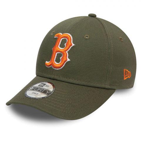New-Era-9Forty-League-Essential-Boston-Red-Sox-Cap-Junior-2109061108