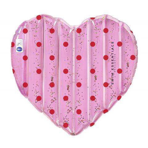 Swim-Essentials-Pink-Hart-Luchtbed